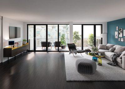 DomAquarée Living Room