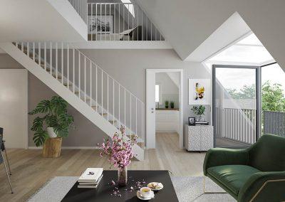 Alt Mariendorf Wohnzimmer